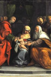 Copy (17th century) of Garofalo, The Circumcision of Christ, 1519