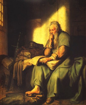 the four letters in which paul appears to be writing from prison are traditionally assigned to the roman imprisonment in a d 60 62 referred to at the end