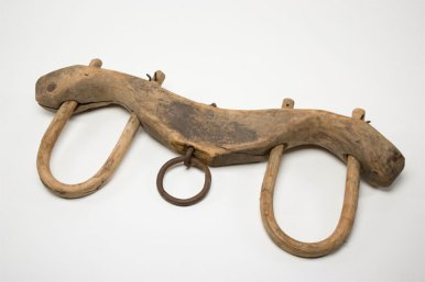 Ancient yoke from Roman Empire