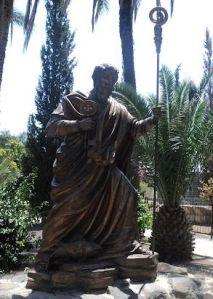 Peter at Capernaeum