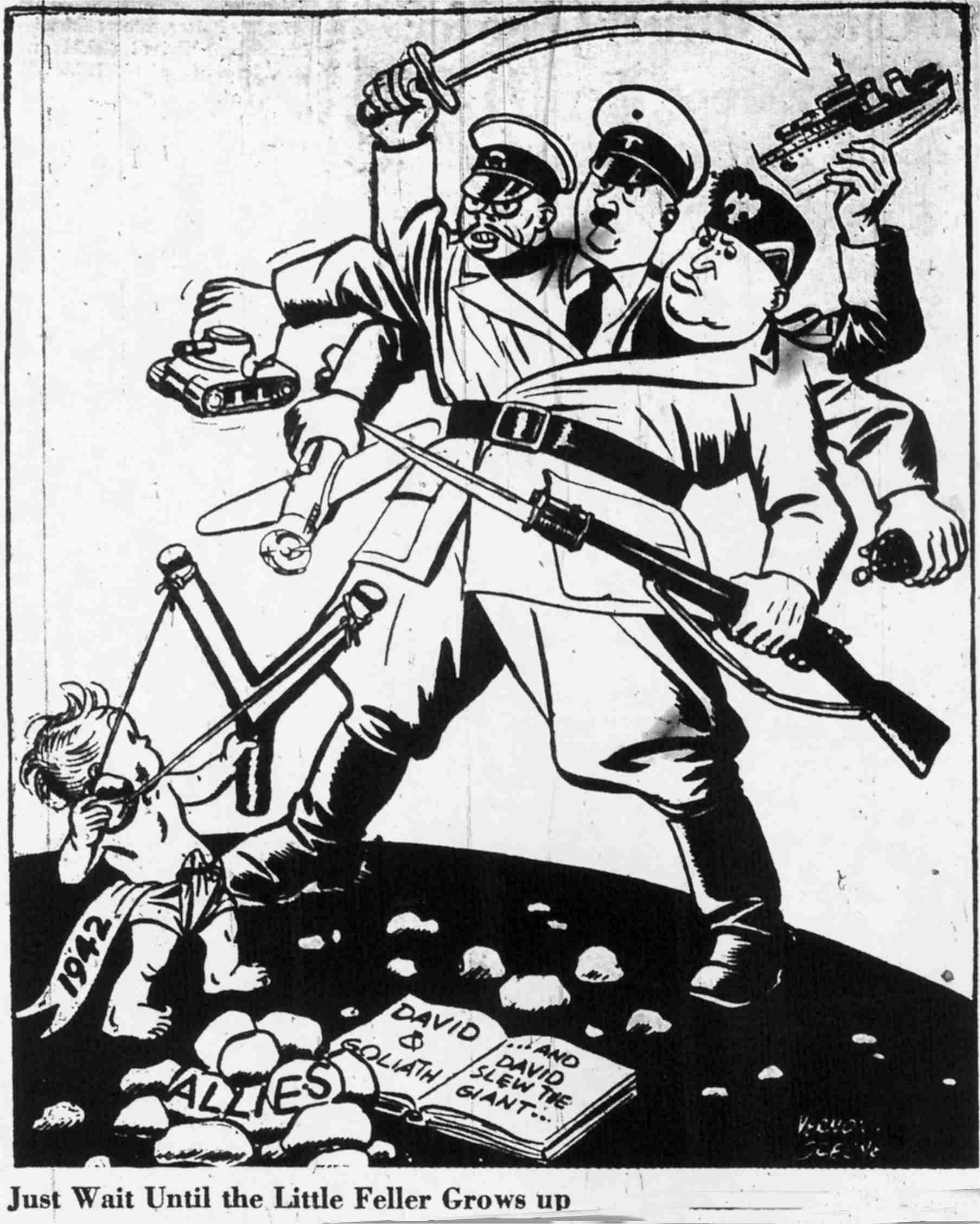 World War 1 Political Cartoons