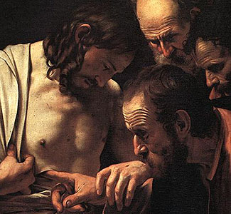 Image result for Jesus appearing with his disciples and thomas