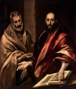 Peter and Paul by El Greco