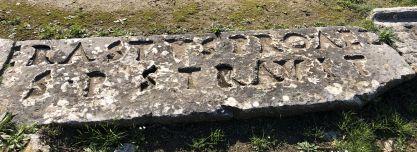 Erastus Inscription from Corinth