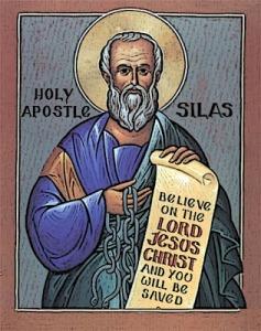 Silas, companion of Paul