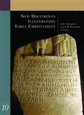 Book Giveaway Winner! - New Documents Illustrating Early Christianity, Vol. 10
