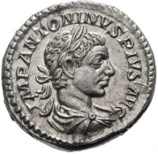 Denarius Fortuna Head