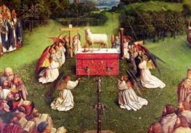 Van Eyck Worship Lamb