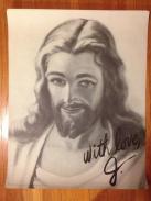 Autographed Jesus