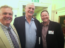 Burridge, Cleese, and Goodacre