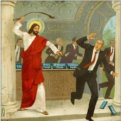 Jesus with a Whip