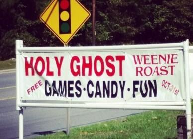 Holy Ghost Weenie Roast