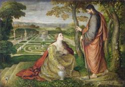 Noli me tangere Lambert Sustris (1515-1591)