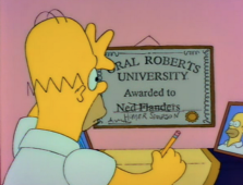 Homer College Degree
