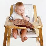Baby Eating Meat