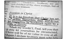 Galatians Freedom in Christ