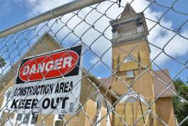 Keep out of the Church