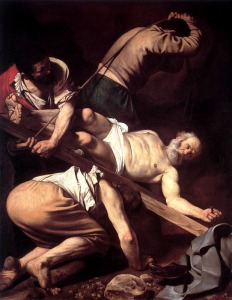 Caravaggio - Crucifixion of Peter