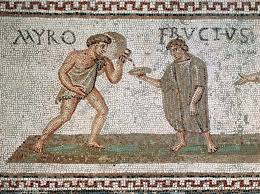 A third century mosaic from Uthina, Tunisia