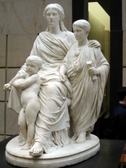 Roman Wife and Children