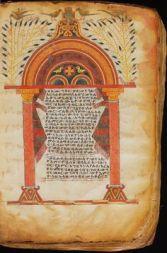 Ethiopic Illuminated Gospel, 1300s.
