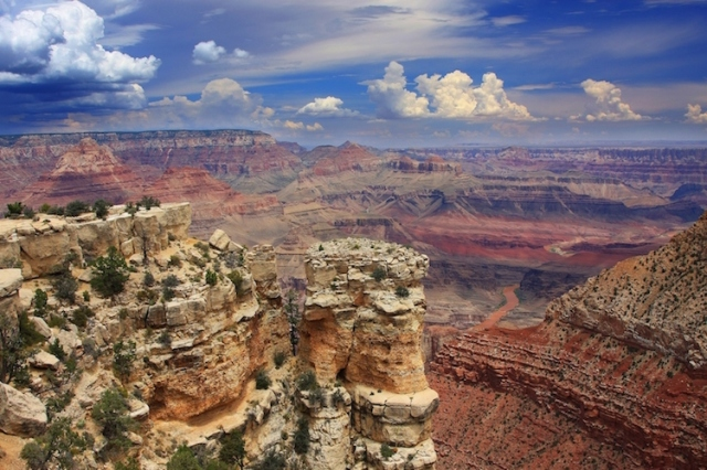View of the Grand Canyon from Moran Point. (Photo by Mike Koopsen)