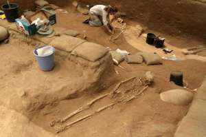 Philistine-grave