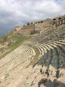 The Theater in Pergamum