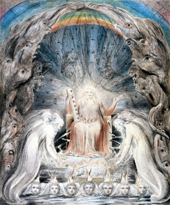 William Blake, Throne of God