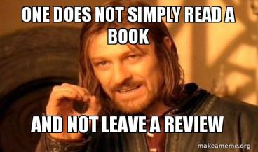 Book Review Meme