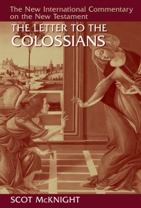 Scot McKnight, Colossians, Commentary
