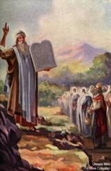 Moses Ten Commandments