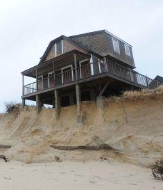 A house built on the sand
