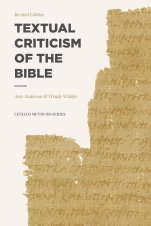 Anderson, Widder, Textual Criticism