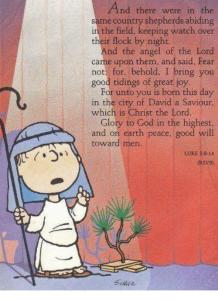 Linus reads Luke 2