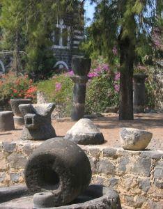 Millstone, Ancient, Israel, Capernaum
