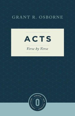 Book Review: Grant Osborne, Acts: Verse by Verse