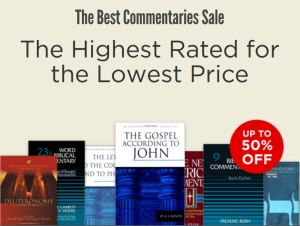 50% off Commentary Sale at Logos