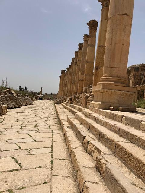 Jerash, Amman, Mount Nebo
