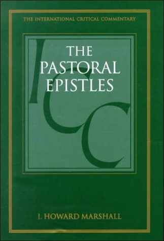 Logos Free Book of the Month for May 2019 – I. Howard Marshall, ICC Commentary on the Pastoral Epistles