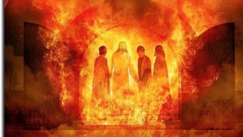 Daniel 3:19-27 – Who is the Fourth Man in the Fiery Furnace ...