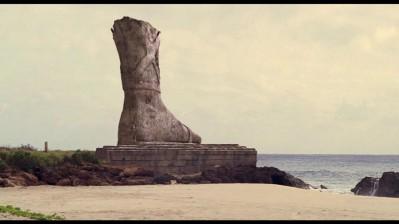 Lost Statue Foot
