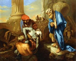Tobit burys the Dead, Giovanni Francesco