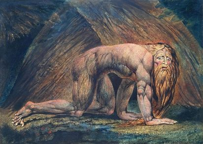 William Blake, Nebuchadnezzar