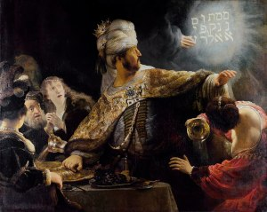 Belshazzar's Feast, Rembrandt