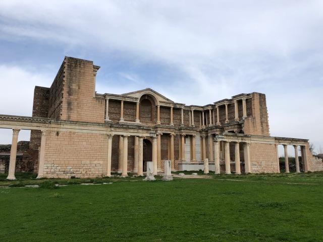 Gymnasium at Sardis