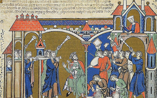 From the 13th century Morgan Bible