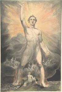 Mighty Angel William Blake