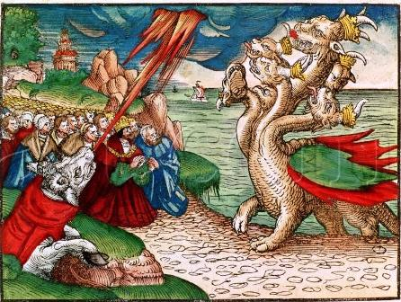 The Beast from Luther Bible