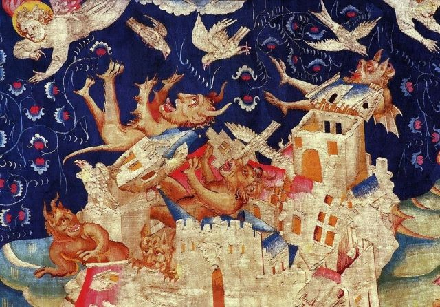Fall of Babylon, Angers Tapestry